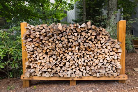 How To Stack Wood Firewood