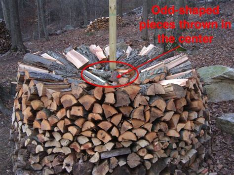 How To Stack Wood For Campfire
