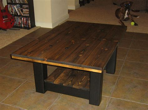 How To Stain A Coffee Table Darker Shades