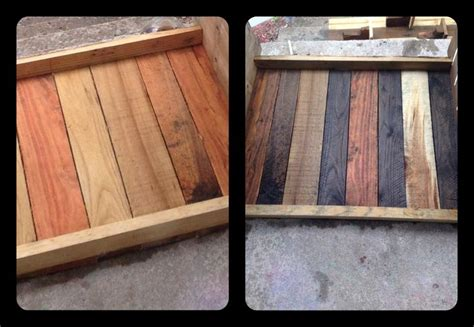How To Stain A Dresser With Steel Wool