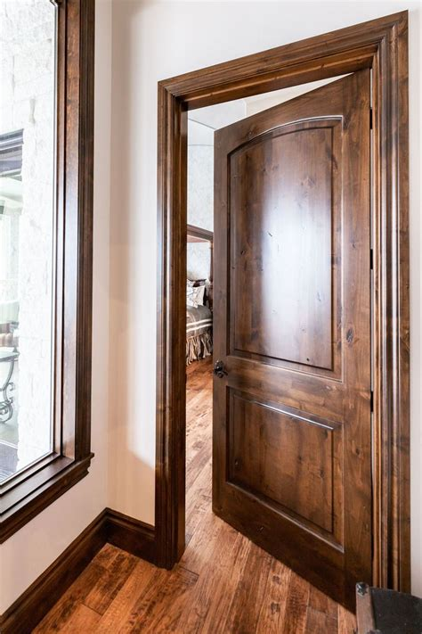 How To Stain A Wood Door Frame