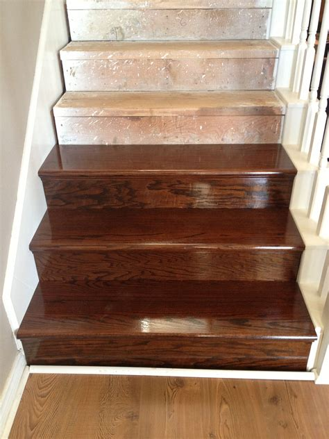 How To Stain And Polyurethane Wood Stairs