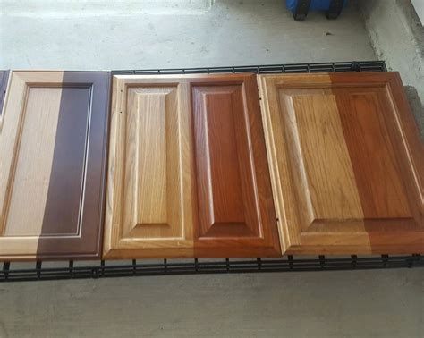 How To Stain And Varnish Wood Cabinets