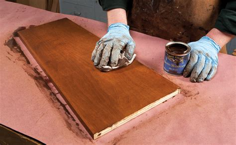 How To Stain Birch Plywood To Look Like Cherry