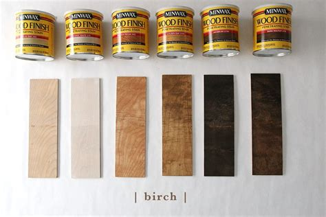 How To Stain Birch To Look Like Oak