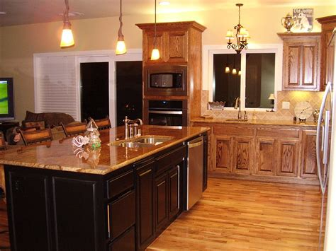 How To Stain Cabinets Dark
