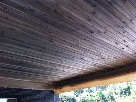 How To Stain Cedar Wood Gray