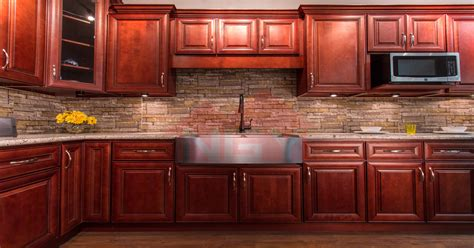 How To Stain Cherry Cabinets