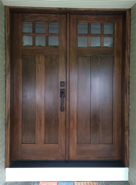 How To Stain Douglas Fir Doors