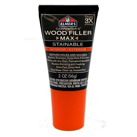 How To Stain Elmers Stainable Wood Filler