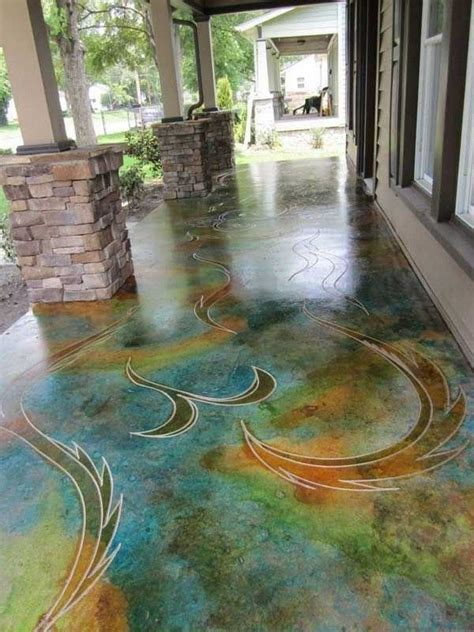 How To Stain Floors In A Design