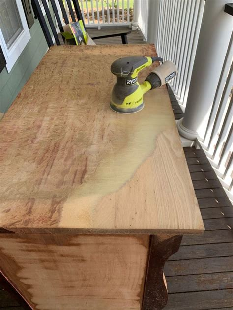 How To Stain Furniture Video