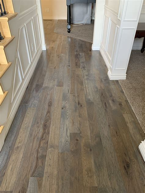 How To Stain Hickory Wood Grey