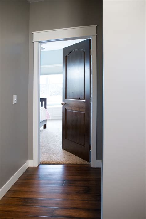 How To Stain Interior Door Trim