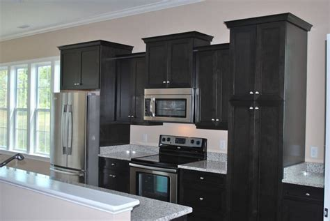 How To Stain Kitchen Cabinets Black