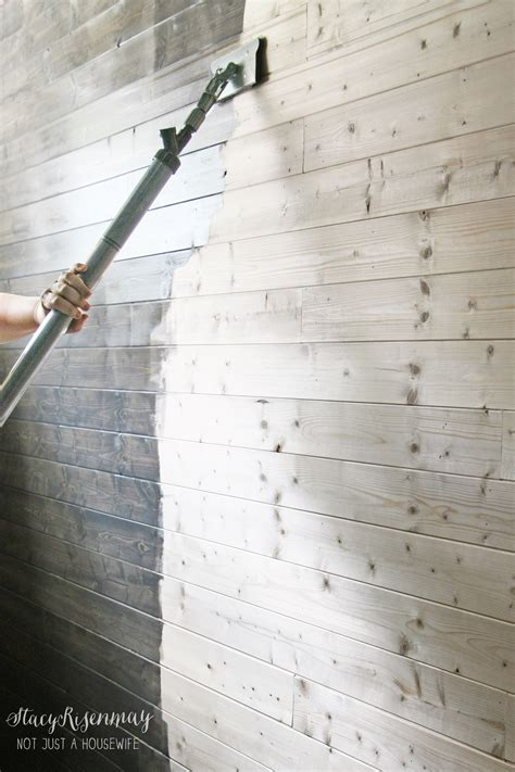 How To Stain Large Areas Fast
