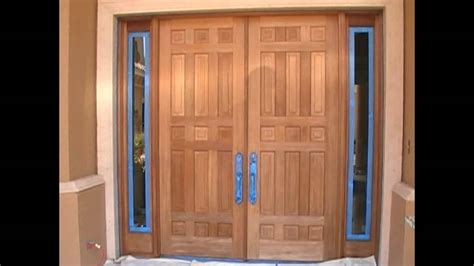 How To Stain Mahogany Door