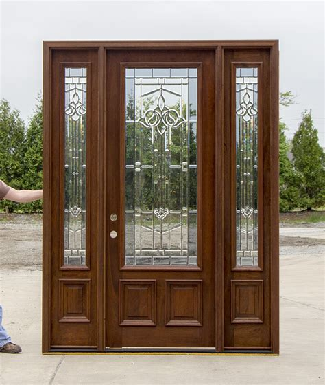 How To Stain Mahogany Entry Doors