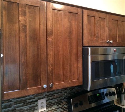 How To Stain Maple Cabinets