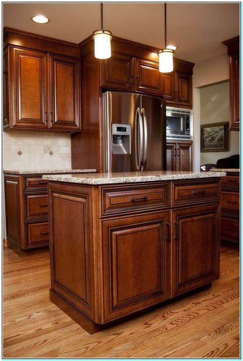How To Stain Oak Cabinets Dark Maple