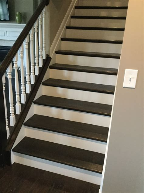 How To Stain Oak Stair Treads