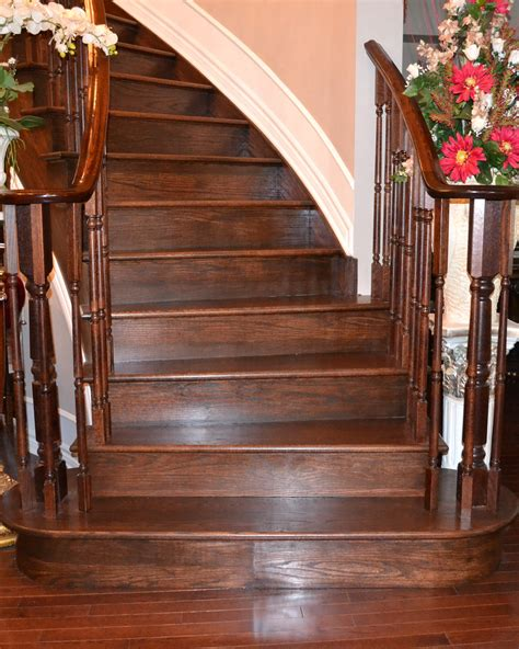 How To Stain Oak Wood Stairs
