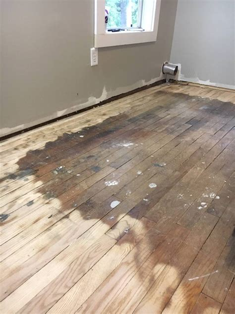 How To Stain Old Wood Floors