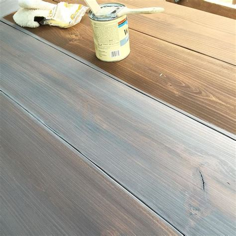 How To Stain Pine Furniture White Washed