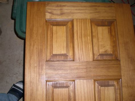 How To Stain Pine Wood Doors