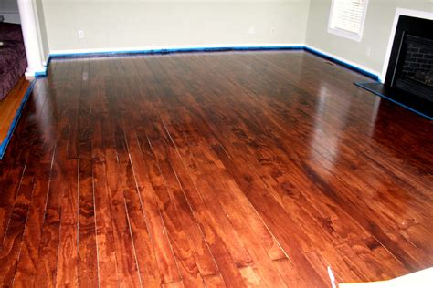 How To Stain Plywood Floors