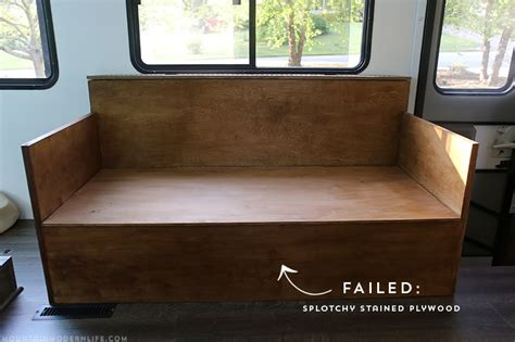 How To Stain Plywood Furniture Sofa