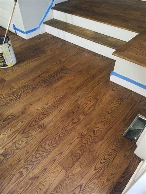 How To Stain Red Oak Floors White