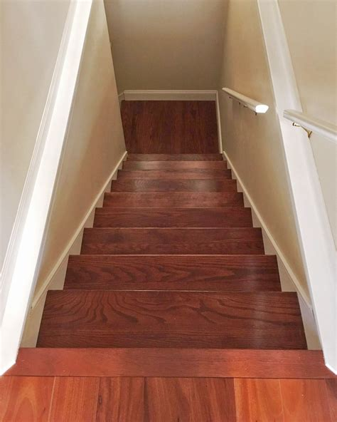 How To Stain Red Oak Stair Treads