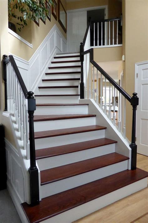 How To Stain Red Oak Stairs