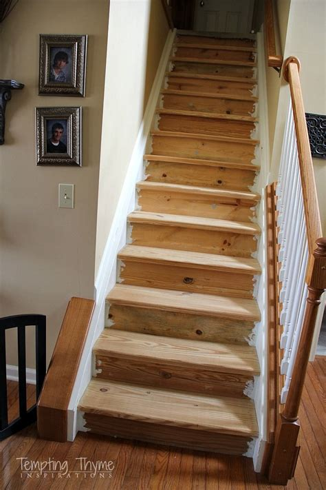 How To Stain Stairs After Carpet