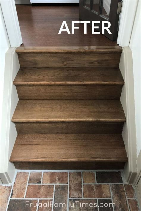 How To Stain Stairs To Match Hardwoods