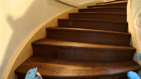 How To Stain Stairs Video