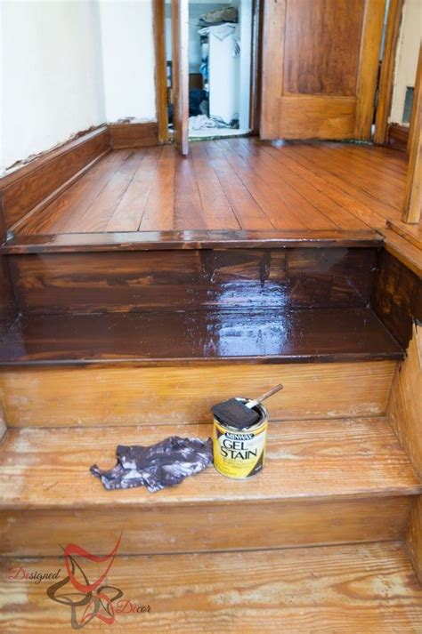 How To Stain Steps Over Existing Stain