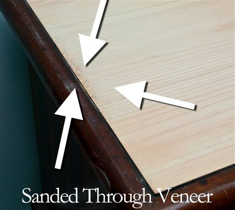 How To Stain Veneer Wood After Sanding