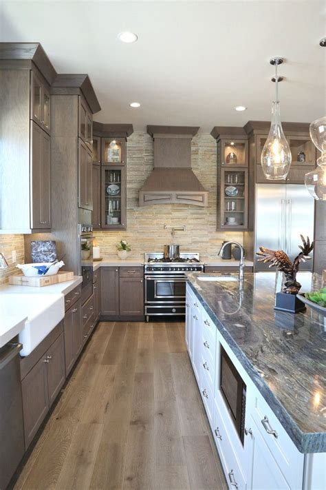 How To Stain Wood Cabinets White Kitchen
