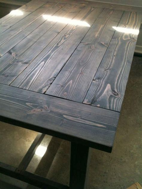 How To Stain Wood Furniture Gray