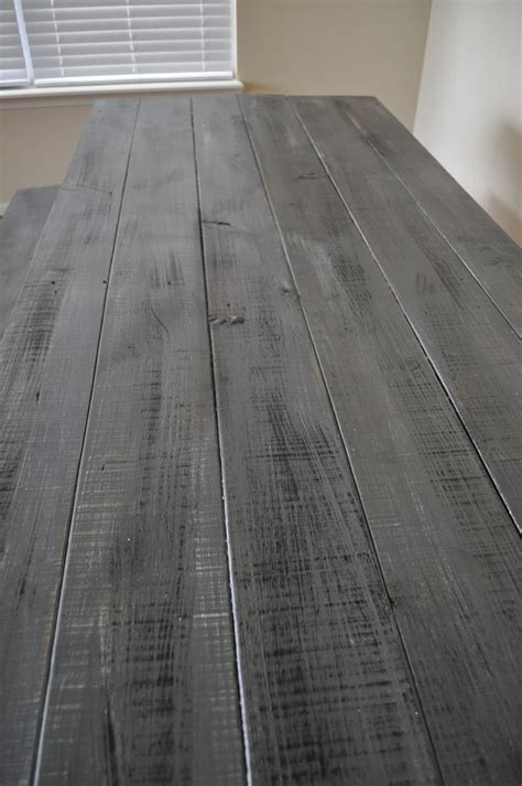 How To Stain Wood Grey Diy Paint