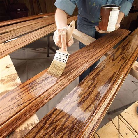 How To Stain Wood Trim Pine