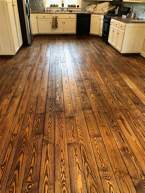 How To Stain Yellow Pine Floors