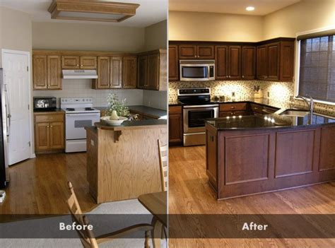 How To Stain Your Oak Cabinets Darker