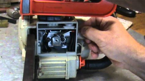 How To Start An Echo Cs 370 Chainsaw Carburetor Adjusting