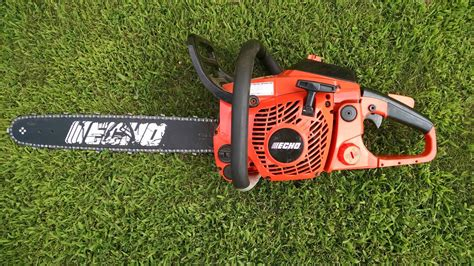 How To Start An Echo Cs 370 Chainsaw Review
