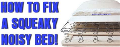 How To Stop A Bed From Squeaking Box Spring