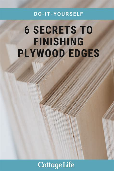 How To Straighten Plywood Edges