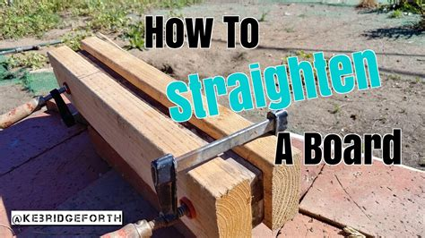 How To Straighten Wood By Steam